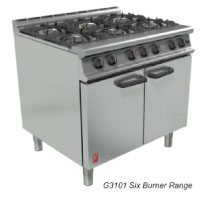 G3101, G3161, G3107 & GAS GENERAL PURPOSE OVEN RANGES