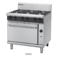 G506D, G506C, G506B, G506A GAS RANGE STATIC OVEN 900mm