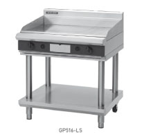 GP516-B, GP516-CB, GP516-LS, GP516-RB GAS GRIDDLE 900mm